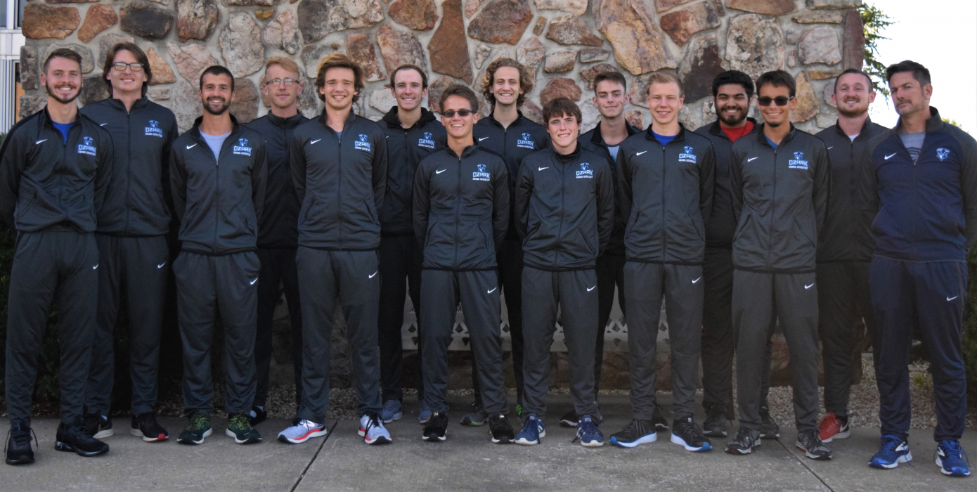 Ozark Christian College Men's Cross Country Team Picture 2019